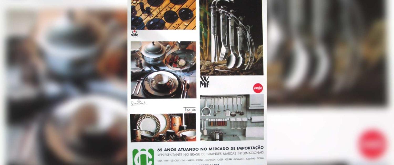 1993 | O grupo entra no mercado de bens de consumo com a abertura da unidade de Utilidades Domésticas.